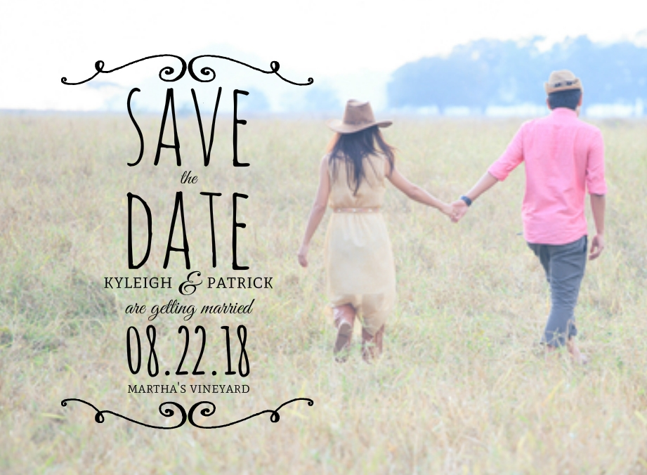 Save The Date Ideas: Rustic Photo Ideas & Wording Samples