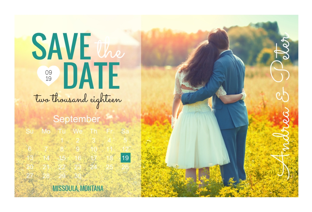Country Save The Date Wording Ideas