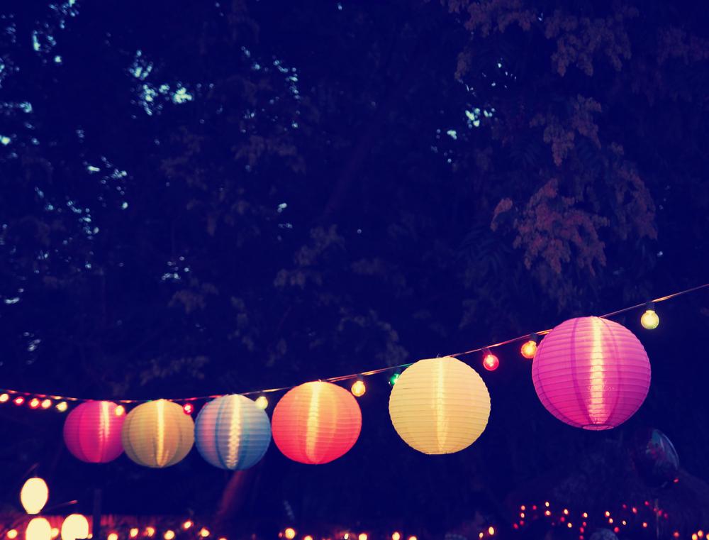 Image Gallery Luau Lanterns