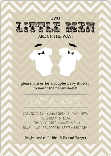baby shower theme ideas retro, bbq, brunch invites, decor, wording, Baby shower invitation