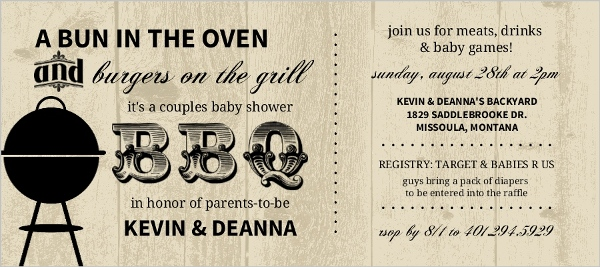 Baby Shower Theme Ideas: Retro, BBQ, Brunch Invites, Decor, Wording