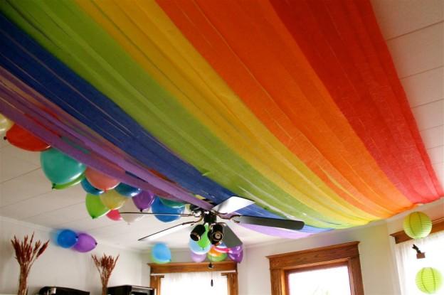 rainbow birthday party ideas invites wording activities