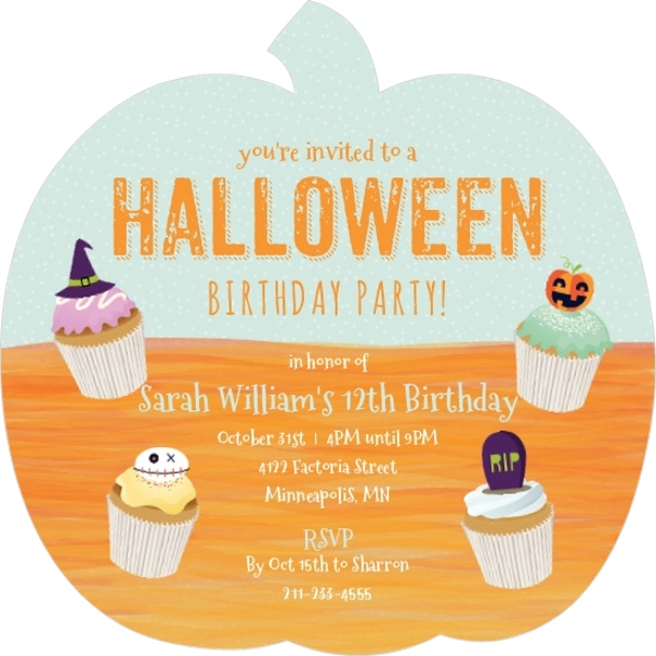 Halloween Party Ideas for Kids Not Scary Games Crafts Invitations – Kids Halloween Party Invite