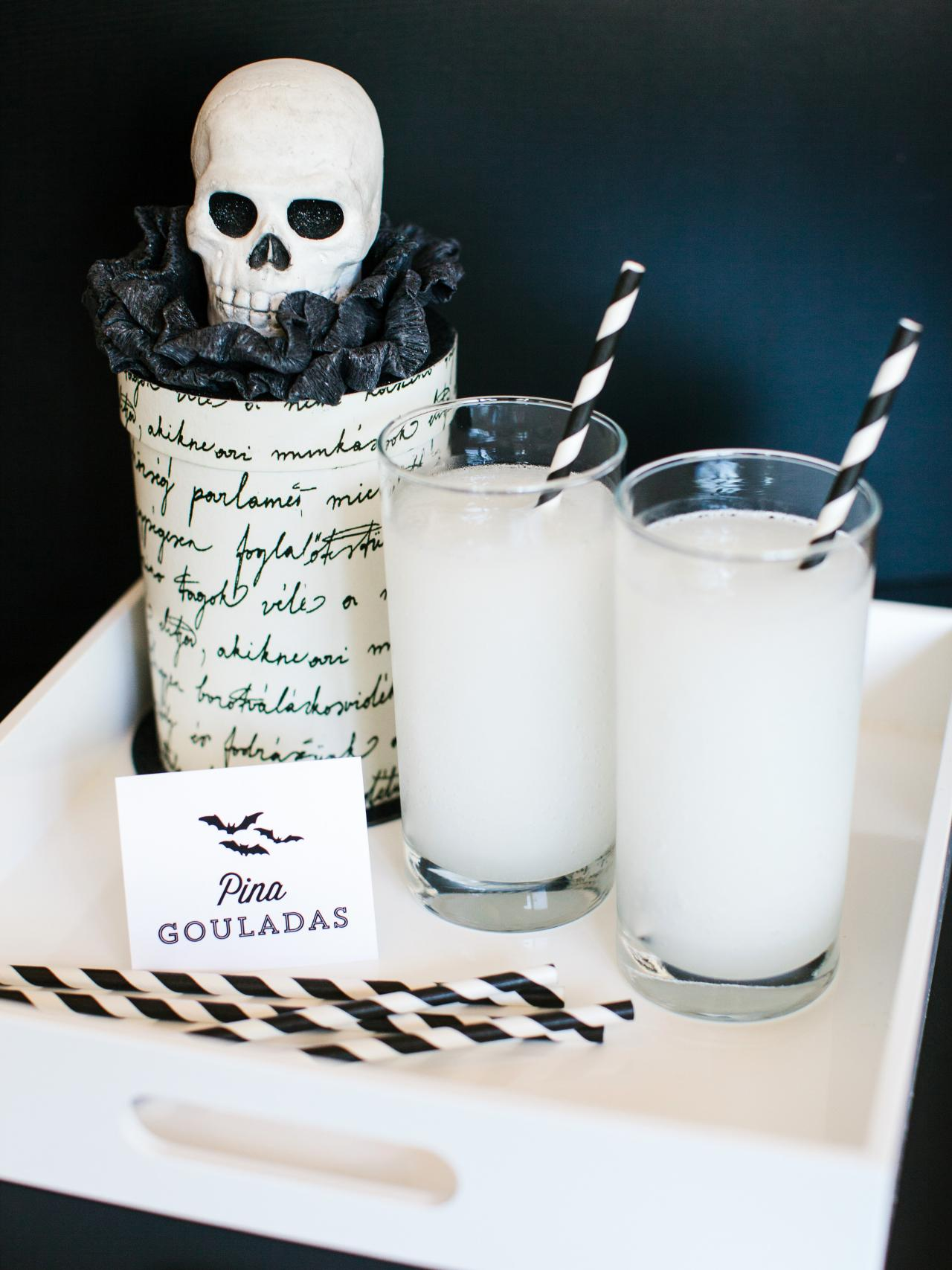 Halloween Party Food Ideas, Cocktails, DIY Decorations, & Invitations