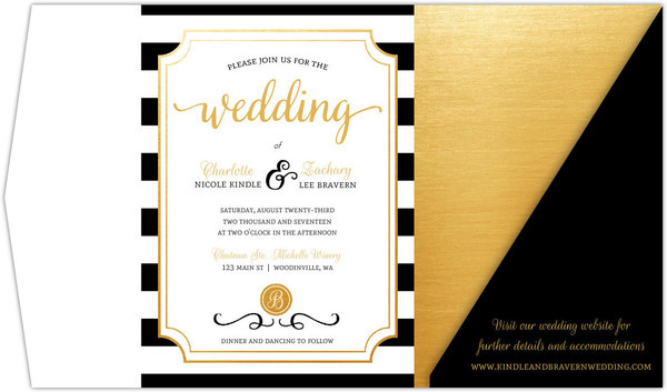 Pocketfold Invitations for Weddings Invitation Ideas