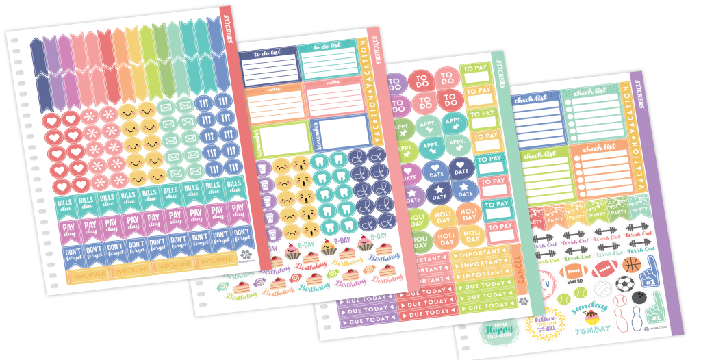 personal planner stickers