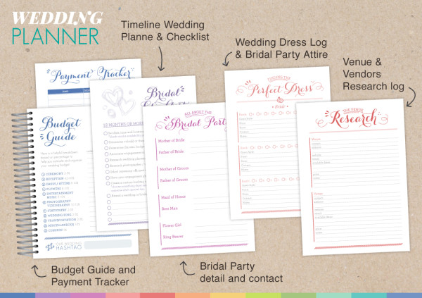 wedding planner research paper Not traditionally a planning tool, the wedding planner allows you to collect and organize all of your wedding inspiration in one place designed with clear sheets to fit tear sheets from wedding magazines, favorite samples, and contracts from vendors, this visual tool allows you to see everything in an organized way without the pressure of being sure you're filling everything in appropriately.
