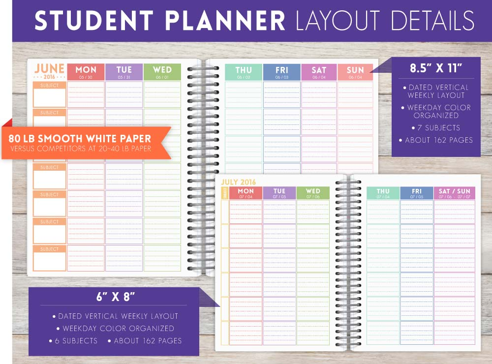 Student Planners Are Here Purpletrail Planners