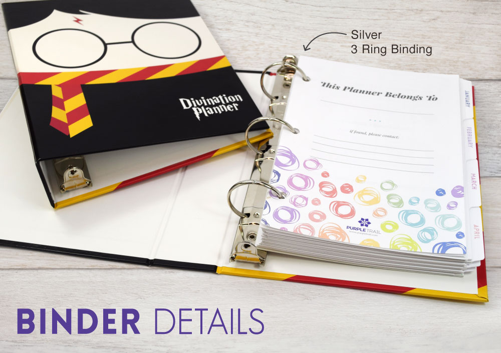 Introducing a 3-Ring Planner Binder | PurpleTrail Planners