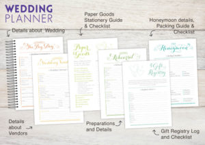 We ve also included options to add special sections to your planner ...