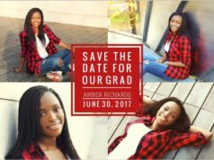 graduation save the dates