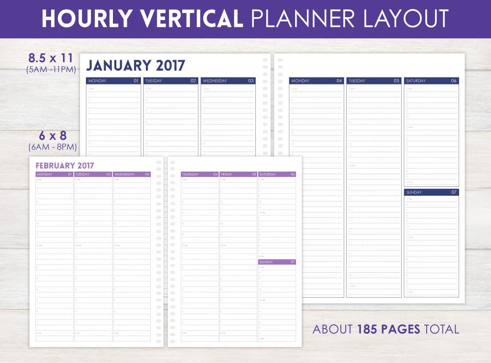 personal planner  u0026 weekly planner by purpletrail