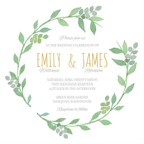 bohemian wedding invitations
