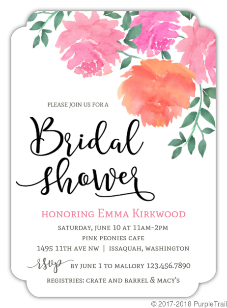 Summer and fall bridal shower invitations we checked in with esther our creative director and she picked out some gorgeous summer and fall bridal shower invitations from our collection to showcase filmwisefo