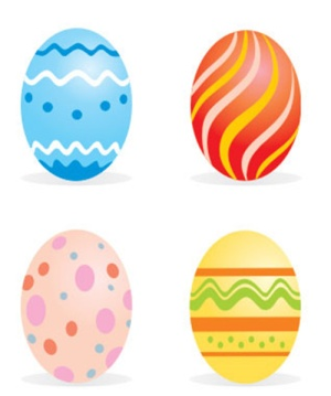 image about Printable Easter Egg known as Cunning Complain: Totally free printable color Easter eggs