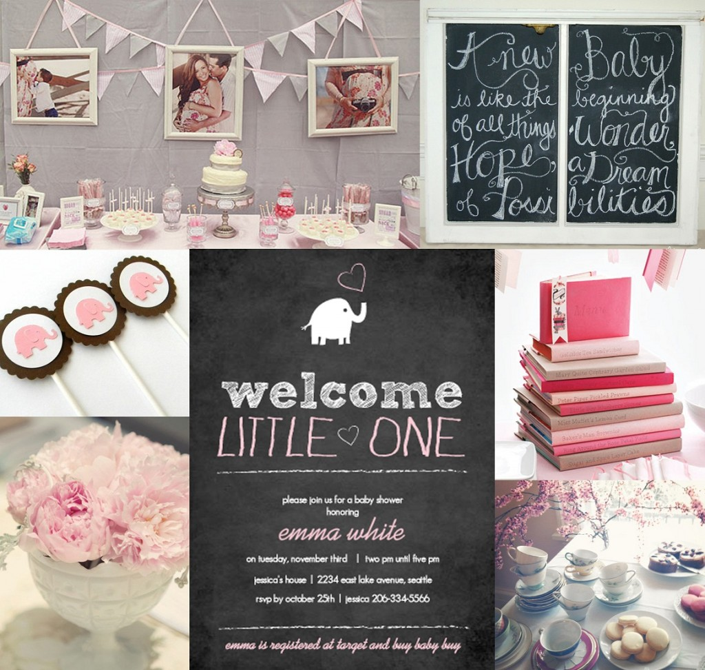 little lady baby shower theme