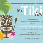 Luau Invitation Wording Ideas
