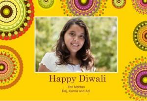Rangoli Diwali card