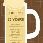21st Birthday Invitation Wording Ideas