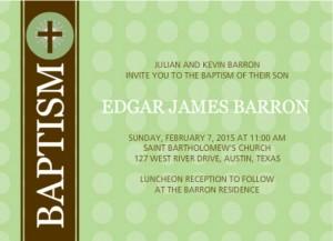 Baptism Invitation Wording Ideas From PurpleTrail