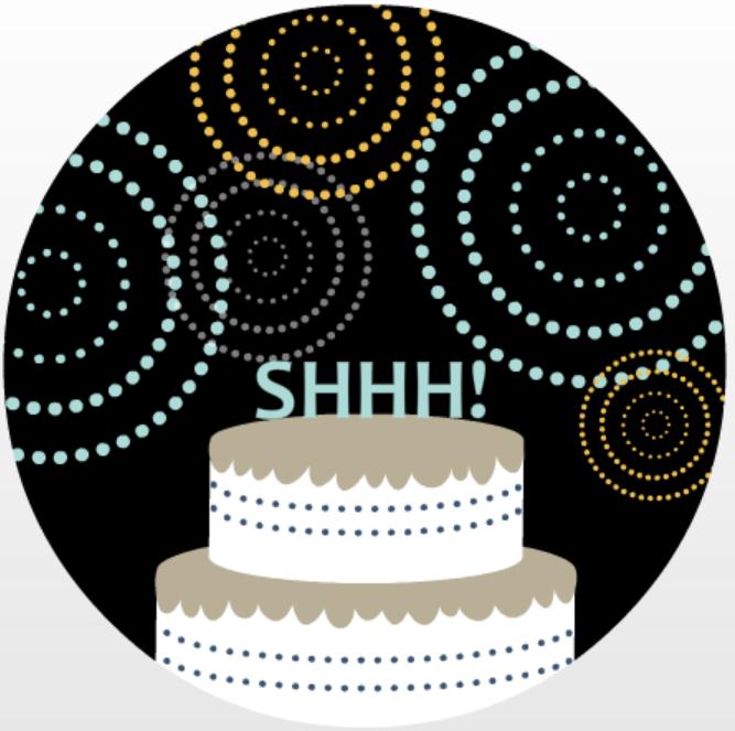 Celebration Cake Surprise Birthday Invitation Adult Birthday Party Ideas
