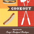 Colorful Cookout Barbecue Invitation Outdoor Game ideas