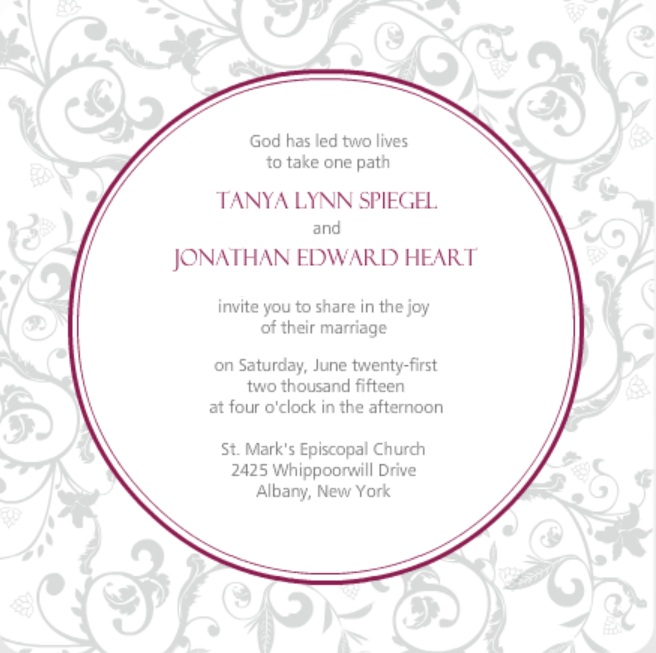 Wedding Invitation Wording Ideas From PurpleTrail Couple Hosted – Wedding Party Invite Wording