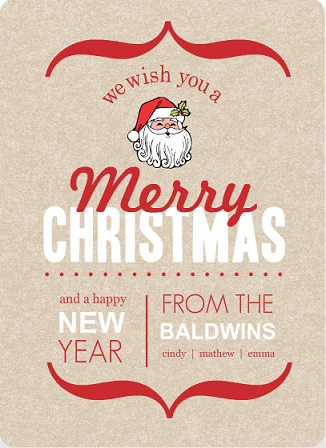 Christmas card wording ideas inspiration from purpletrail for Modern christmas card ideas