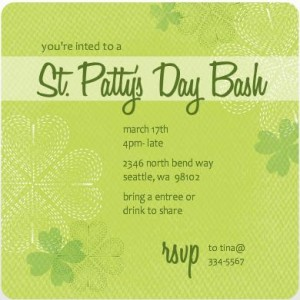 St Patricks Day Party Ideas From Purple Trail Adult