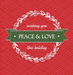 Red And Green Wreath Holiday Card Christmas Trivia