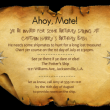 Treasure Map Pirate Party game Invitation