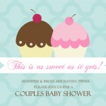 Twins Baby Shower Invitation Wording