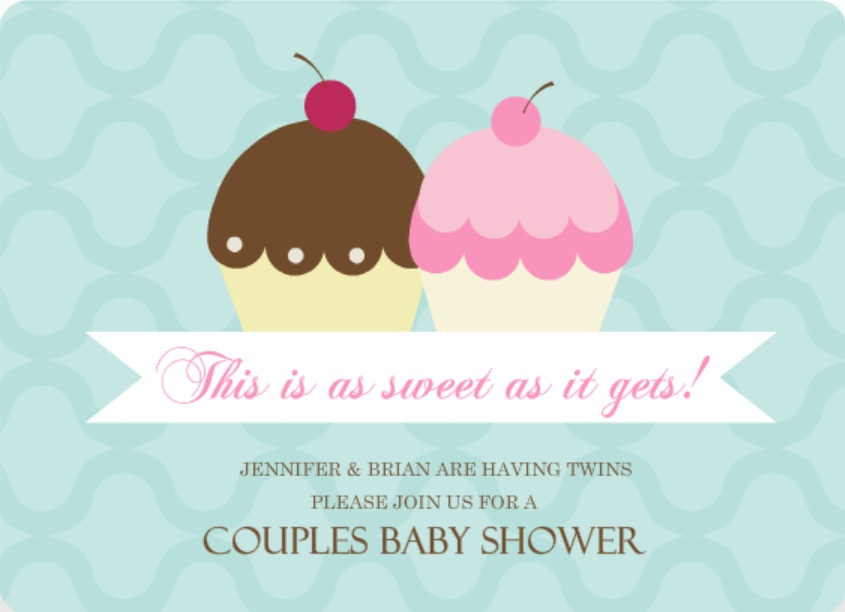 twins baby shower invitation wording ideas from purpletrail, Baby shower invitation