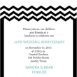We Still Do Black And White Anniversary Invite Inexpensive Wedding Anniversary Ideas