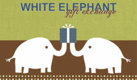White Elephant Gift Exchange ideas Invitation