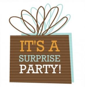 brown present Birthday Party Invite RSVP tips