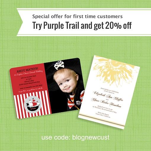 PurpleTrail Christmas Cards