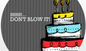 Dont Blow It Cake Surprise Party Planning Ideas Invitation