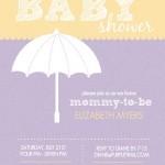 Baby Girl Baby Shower Invitations