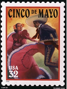 Cinco de Mayo Postage Stamp