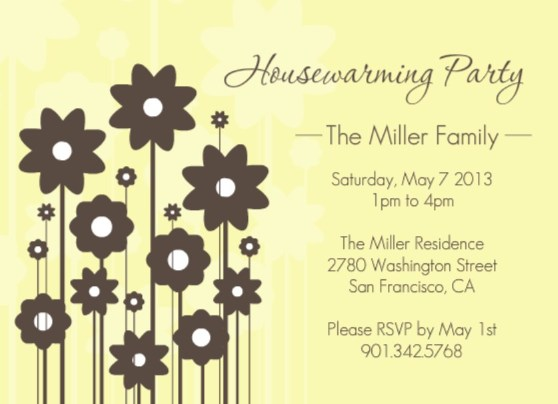 Housewarming Invitations Sayings as luxury invitation ideas