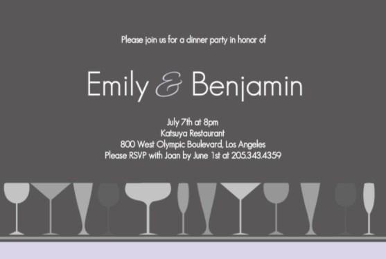 dinner party hosting