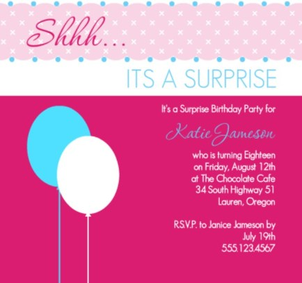 Th Birthday Invitations Wblqualcom - 18th birthday invitations wording ideas