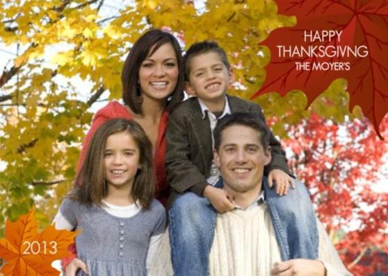 thanksgiving card wording
