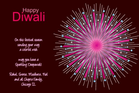 Diwali Greeting Cards and Great Celebration Ideas – Diwali Party Invitation