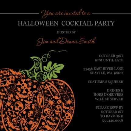 Adult Halloween Party Invitations unique halloween party ideas for kids and adults Adult Sophisticated Halloween Costume Party Party Quotes