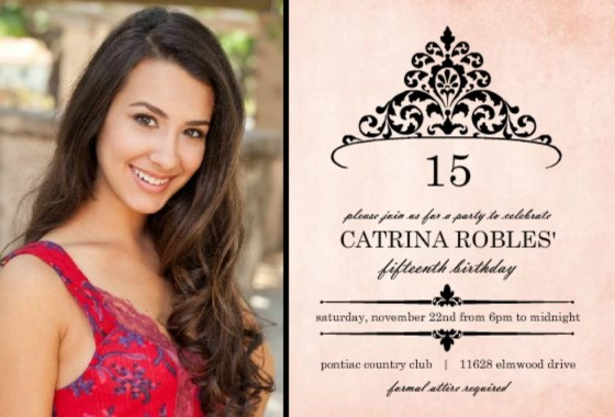 quinceanera invitation wording ideas  u0026 inspiration from purpletrail