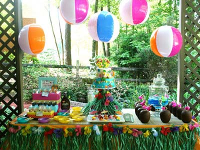 Pool Party Decorations Ideas jones party decoration ideas Pool Party Beach Balls
