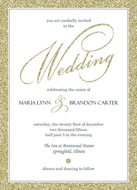 Wedding Invitation Wording Ideas