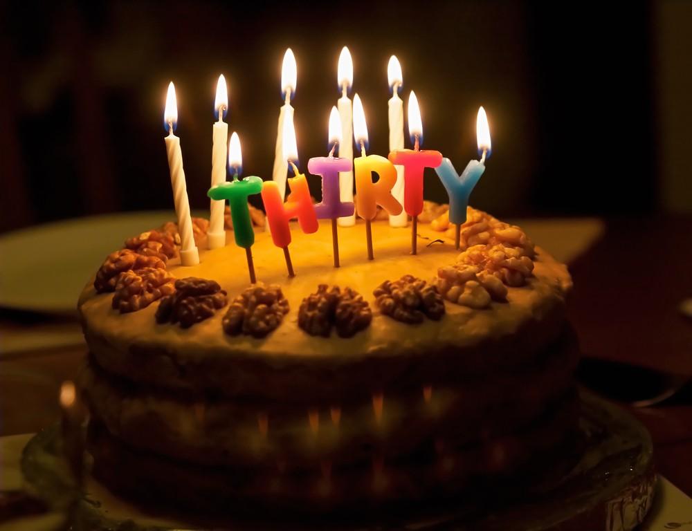 30th Birthday Ideas -- 30 Ways to Celebrate Turning 30
